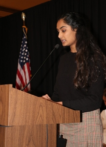 Anu Nattam, Plainfield HS. Photo by Leslie Velez, Pike HS